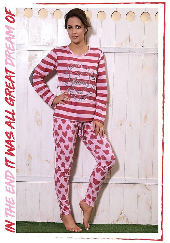 Pijama de dama DREAM LOVE - Modal