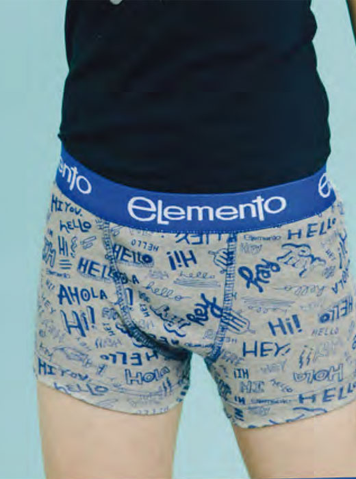 Boxer estampado full