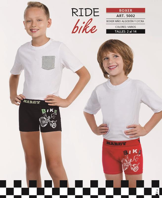 "Boxer Niño estampado"" BIKE"""